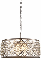 Urban Classic 1213D25PN-RC Madison Polished Nickel Drop Ceiling Light Fixture