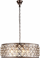 Urban Classic 1213D32PN-RC Madison Polished Nickel Pendant Lighting
