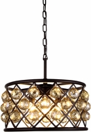 Urban Classic 1214D16MB-GT-RC Madison Mocha Brown Hanging Pendant Light