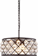 Urban Classic 1214D20MB-RC Madison Mocha Brown Drop Ceiling Light Fixture