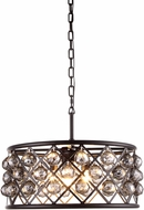 Urban Classic 1214D20MB-SS-RC Madison Mocha Brown Drop Lighting Fixture