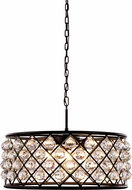 Urban Classic 1214D25MB-RC Madison Mocha Brown Hanging Lamp