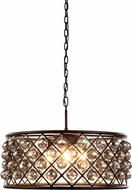 Urban Classic 1214D25MB-SS-RC Madison Mocha Brown Hanging Light