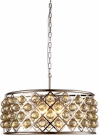 Urban Classic 1214D25PN-GT-RC Madison Polished Nickel Pendant Light Fixture