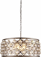 Urban Classic 1214D25PN-RC Madison Polished Nickel Pendant Lighting Fixture
