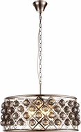 Urban Classic 1214D25PN-SS-RC Madison Polished Nickel Hanging Pendant Lighting