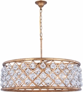 Urban Classic 1214D32GI-RC Madison Golden Iron 32  Drum Lighting Pendant