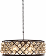 Urban Classic 1214D32MB-GT-RC Madison Mocha Brown Hanging Pendant Light