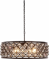 Urban Classic 1214D32MB-SS-RC Madison Mocha Brown Hanging Light Fixture