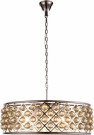 Urban Classic 1214D32PN-GT-RC Madison Polished Nickel Drop Lighting