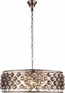 Urban Classic 1214D32PN-SS-RC Madison Polished Nickel Ceiling Light Pendant