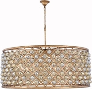 Urban Classic 1214G43GI-GT-RC Madison Golden Iron 43.5  Drum Hanging Lamp