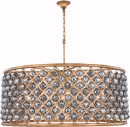 Urban Classic 1214G43GI-SS-RC Madison Golden Iron 43.5  Drum Pendant Light Fixture