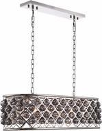 Urban Classic 1216G40PN-SS-RC Madison Polished Nickel Island Lighting