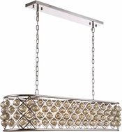 Urban Classic 1216G50PN-GT-RC Madison Polished Nickel Kitchen Island Light Fixture
