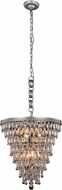Urban Classic 1219D18AS-RC Nordic Antique Silver 18  Hanging Pendant Light