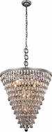 Urban Classic 1219D24AS-RC Nordic Antique Silver 24  Hanging Light Fixture