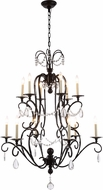 Urban Classic 1420D33VB Sarina Vintage Bronze Chandelier Lighting
