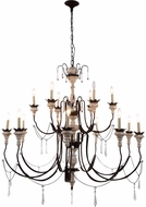 Urban Classic 1431D46AW Mystic Antique White Chandelier Light