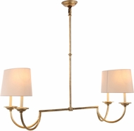 Urban Classic 1432G44GI Avanti Golden Iron Island Light Fixture