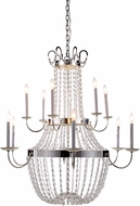 Urban Classic 1433G39SN Roma Silver Nickel Entryway Light Fixture