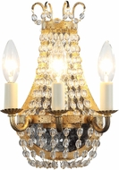 Urban Classic 1433W8GI Roma Golden Iron Lamp Sconce