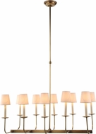 Urban Classic 1435D35BB Penelope Burnished Brass Island Lighting
