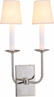 Urban Classic 1435W10PN Penelope Polished Nickel Lighting Wall Sconce