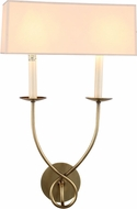 Urban Classic 1437W13BB Argyle Burnished Brass Sconce Lighting