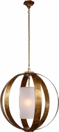 Urban Classic 1438D29GI Serenity Contemporary Golden Iron Hanging Pendant Lighting