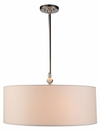 Urban Classic 1441D22PN Asha Polished Nickel Drum Lighting Pendant