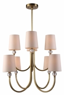 Urban Classic 1444D28BB Toscana Burnished Brass Hanging Chandelier