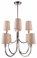 Urban Classic 1444D28PN Toscana Polished Nickel Chandelier Lighting