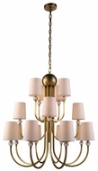 Urban Classic 1444D33BB Toscana Burnished Brass Chandelier Lamp