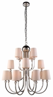 Urban Classic 1444D33PN Toscana Polished Nickel Ceiling Chandelier