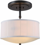Urban Classic 1449D15BZ Manhattan Bronze Drum Ceiling Pendant Light