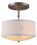 Urban Classic 1449D15VN Manhattan Vintage Nickel Drum Drop Lighting Fixture