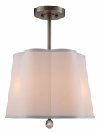 Urban Classic 1455D16VN Plantation Vintage Nickel Drum Pendant Lighting Fixture