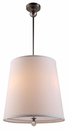 Urban Classic 1456D18VN Afton Vintage Nickel Drum Ceiling Pendant Light