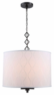Urban Classic 1457D23BZ Meridian Bronze Drum Drop Lighting Fixture