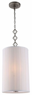 Urban Classic 1458D13VN Luna Vintage Nickel Drum Hanging Light