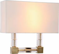 Urban Classic 1461W13BB Cristal Burnished Brass Wall Sconce Lighting