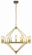 Urban Classic 1472G39BB Illumina Contemporary Burnished Brass Ceiling Chandelier