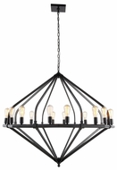 Urban Classic 1472G52BZ Illumina Contemporary Bronze Lighting Chandelier