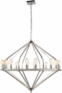 Urban Classic 1472G52PN Illumina Modern Polished Nickel Chandelier Lamp