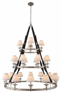 Urban Classic 1473G52PN Cascade Polished Nickel Ceiling Chandelier