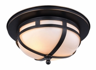 Urban Classic 1478F11BZ Bella Bronze Flush Mount Lighting