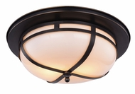 Urban Classic 1478F15BZ Bella Bronze Flush Mount Lighting Fixture