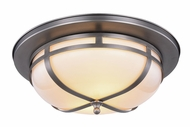 Urban Classic 1478F15VN Bella Vintage Nickel Flush Ceiling Light Fixture