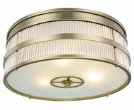 Urban Classic 1481F13BB Anjelica Burnished Brass Overhead Lighting